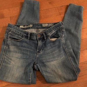 Madewell Skinny Ankle Jean Size 26